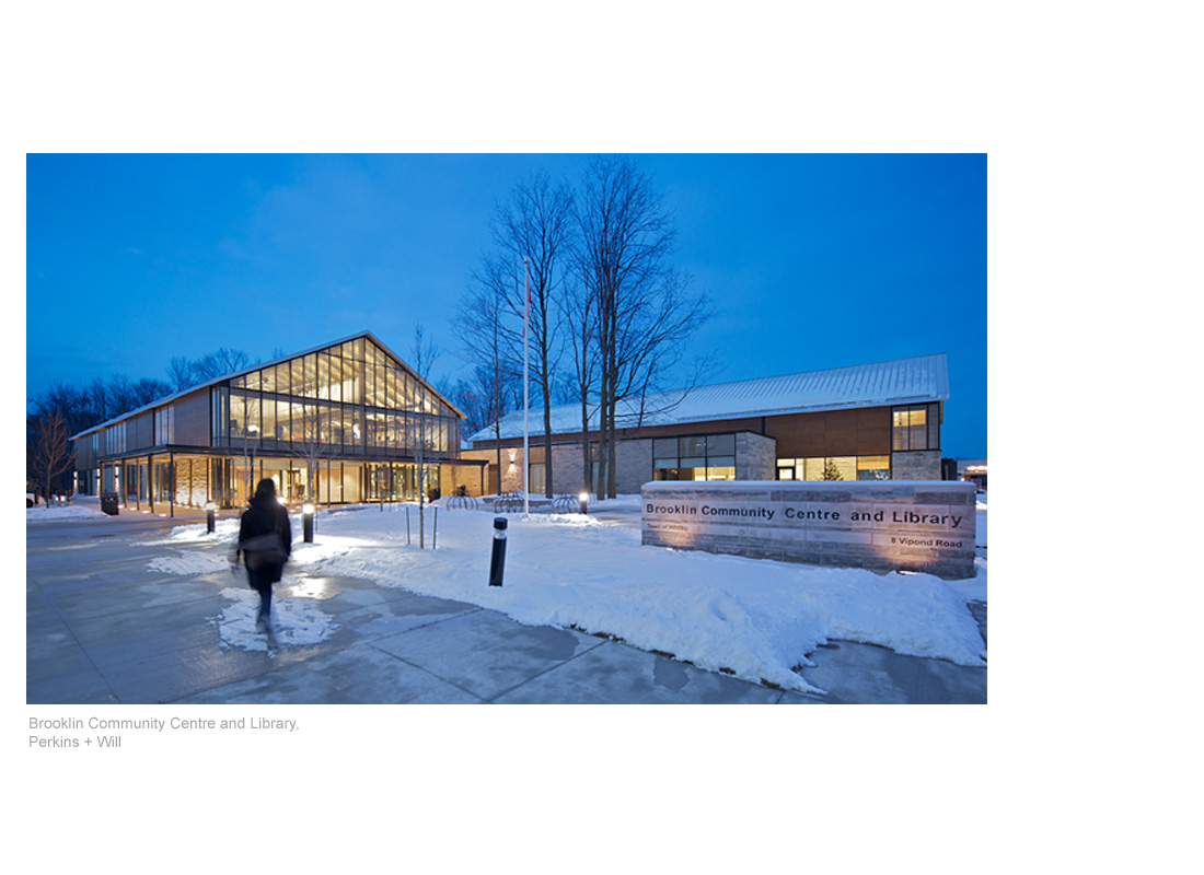 Brooklin Community Centre and Library, Perkins + Will